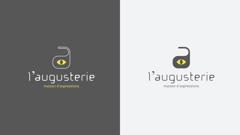 augusterie, création logo