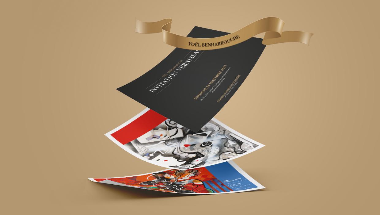galerie nuances et lumière, Benharrouche invitation