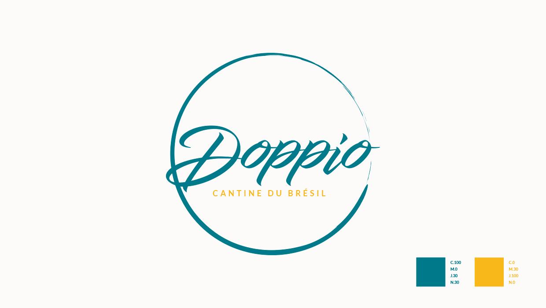 Création Logo Doppio