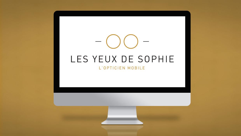 LES YEUX DE SOPHIE, WEBDESIGN