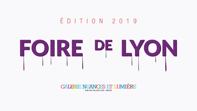 galerie nuances et lumière, Foire de Lyon 2019