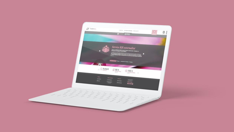 fusion rh, site mobile