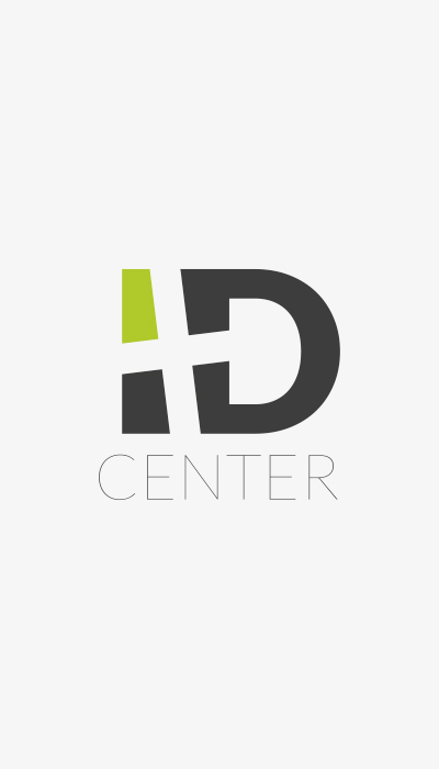 ID CENTER, CLUSES, LOGOTYPE