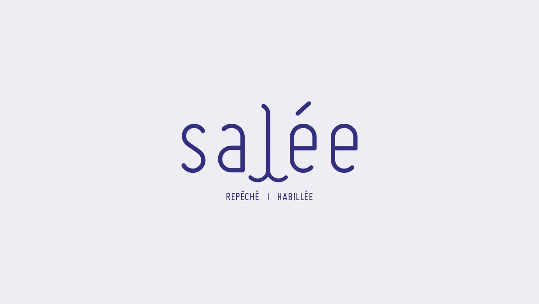 SALÉE, CRÉATION INDENTITÉ GRAPHIQUE