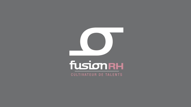 FUSION RH, RECRUTEMENT, LOGO