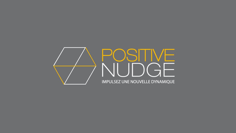 positive nudge, création graphique