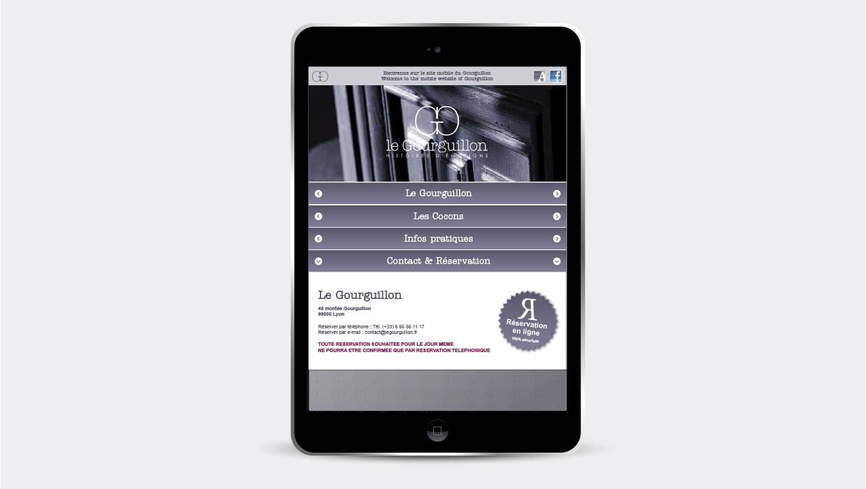Le Gourguillon, Lyon, site mobile