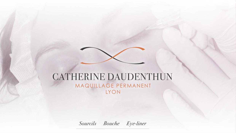 Catherine Daudenthun, création identité graphique
