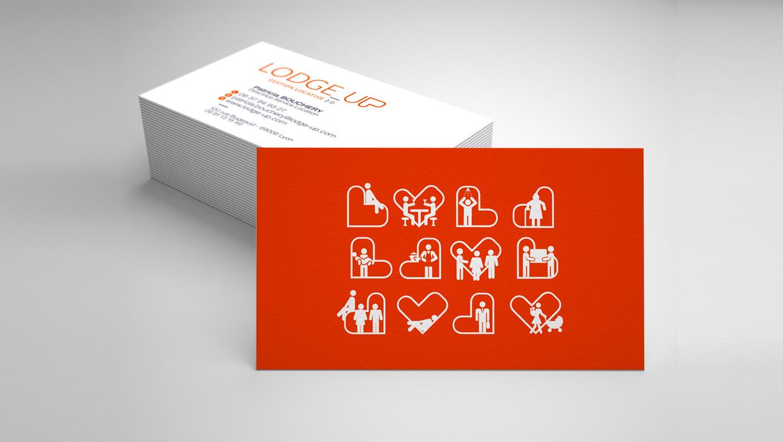 LodgeUp, gestion locative 2.0, identité de marque
