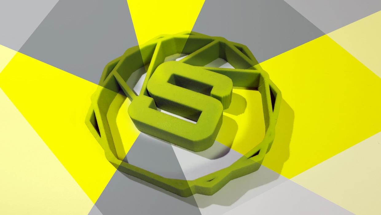 Open Smile, logo 3D