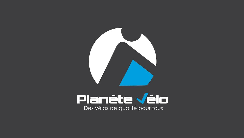 Planète Vélo, Lyon, Caluire, Création logo