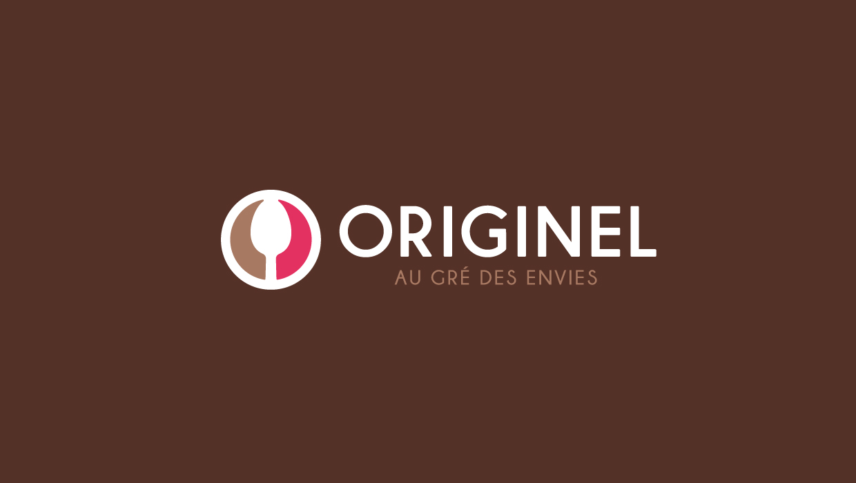 Originel, restaurant Grenoble, création logo