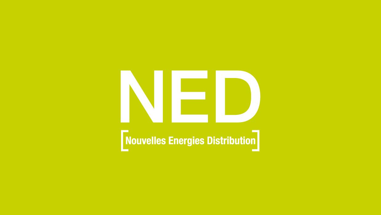 NED, nouvelle énergie Distribution, création identité de marque