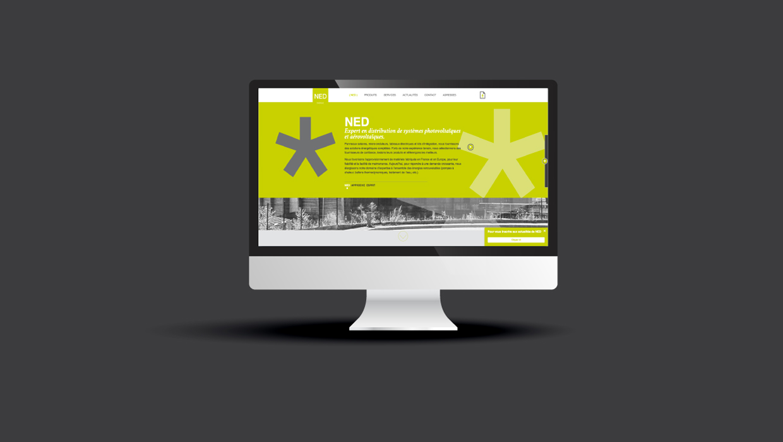 NED, nouvelle énergie Distribution, site internet