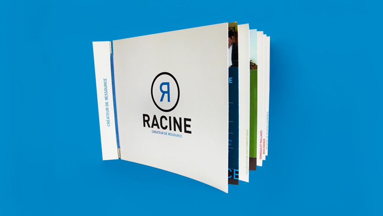 Racine, création identité graphique