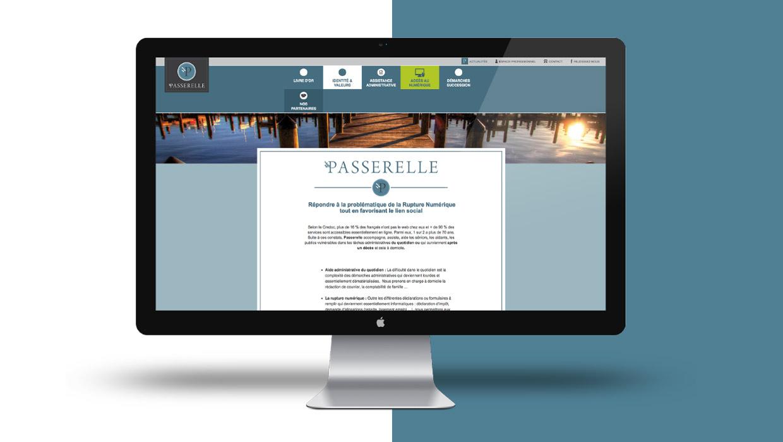 Passerelle, administration, webdesign