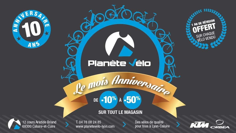 Planète Vélo, Lyon, Caluire, Création identité de marque